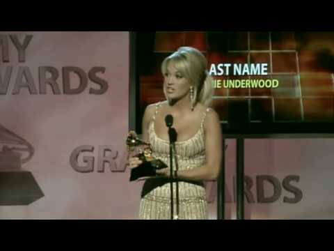 2009 Grammy Female County Vocal Win