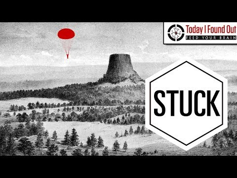 That Time a Guy Parachuted Onto Devils Tower and No One Could Figure Out How to Get Him Down