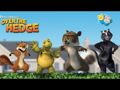 Over The Hedge | FULL MOVIE GAME | Dreamworks Games | PimPamPum KIDS HD
