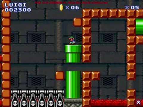 Mario Flash - Where The Lava Flows