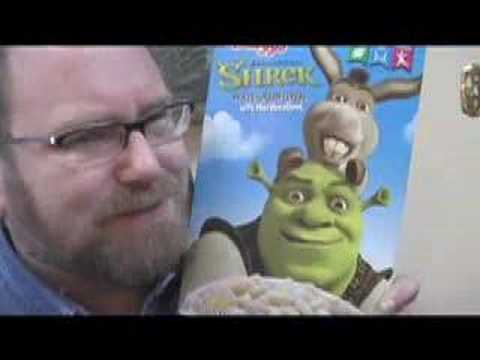 Shrek the Third Six FAIL Food Products Review by Mike Mozart