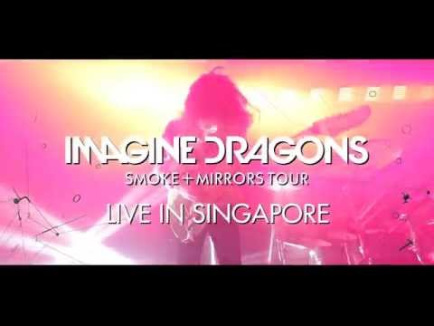 Imagine Dragons Smoke + Mirrors Tour Singapore