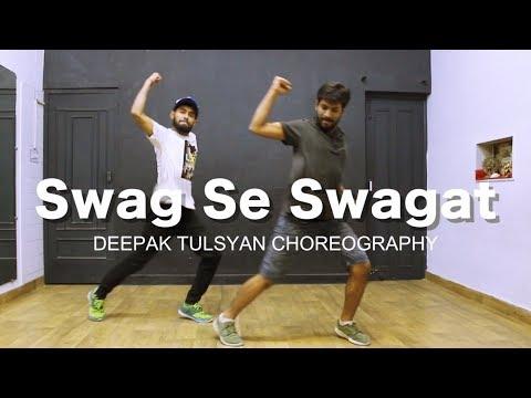 Swag Se Swagat Song | Bollywood Dance Choreography | Tiger Zinda hai | Salman khan | Deepak Tulsyan