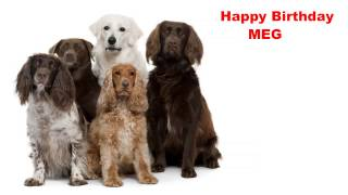 Meg - Dogs Perros - Happy Birthday