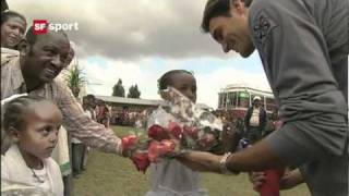 The Match for Africa - Roger Federer vs Rafael Nadal exhibition match by Roger Federer Foundation. Date & time: 21/12/2010  08:20 pm, Place: Zurich, ...