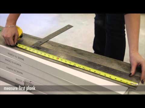 EZ Lay Flooring Product Installation