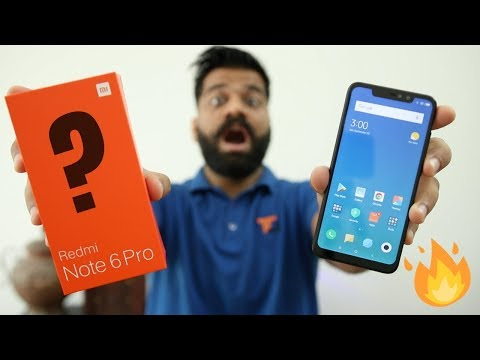 Video Xiaomi Redmi Note 6 Pro Unboxing & First Look - Same as Note 5 Pro???🔥🔥🔥 download in MP3, 3GP, MP4, WEBM, AVI, FLV January 2017