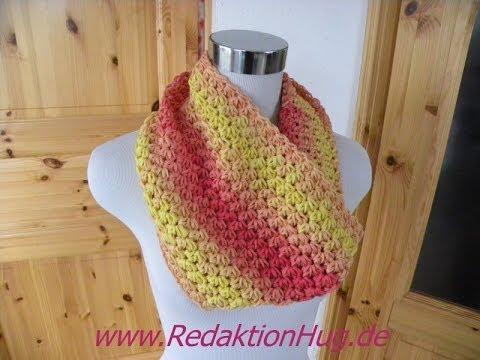 Häkeln – Loop – Schal aus Arona von ONline-Garne