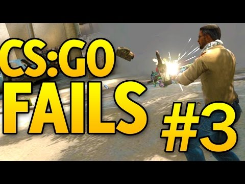 CS GO Fails #3 (CSGO Funny Moments)