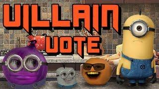 Despicable Me 2 - Annoying Orange - Choose Your Villain!