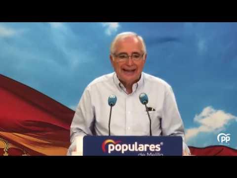 Lo importante es hablar del futuro de Melilla y tr...