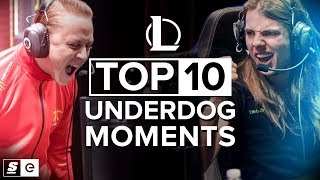 Video The Top 10 Underdog Moments in League of Legends MP3, 3GP, MP4, WEBM, AVI, FLV Agustus 2018
