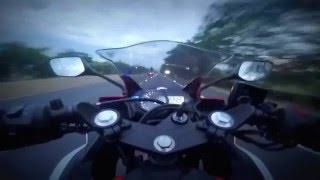 9. Yamaha YZF R3 Top Speed First Ride 2016 MaCa