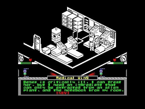 Space:1999 Oric game demo