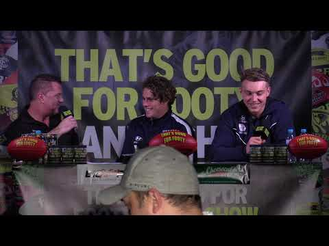 "Footy Show ""that's Good For Footy"" Presents Footy Funatics "" Ep 16 July 11th Carlton"