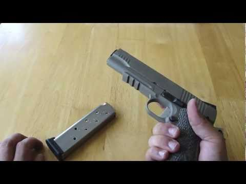 Sig Sauer 1911 Scorpion Closer Look & Disassembly