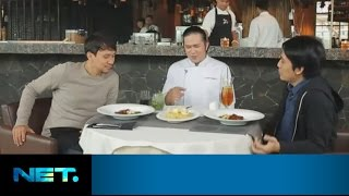 Video Vincent & Desta - Beef Barbecue + Nasi Goreng | Chefs Table | Chef Chandra | NetMediatama MP3, 3GP, MP4, WEBM, AVI, FLV Oktober 2018