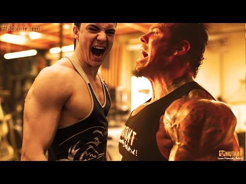 natural - For Entertainment Purposes Only* Natural Teen Sean Thompson attempts Rich Piana's 8 hour, 16 shake arm workout routine! 16 mini workouts ever half an hour for 8 hours featuring 124 sets; 64...