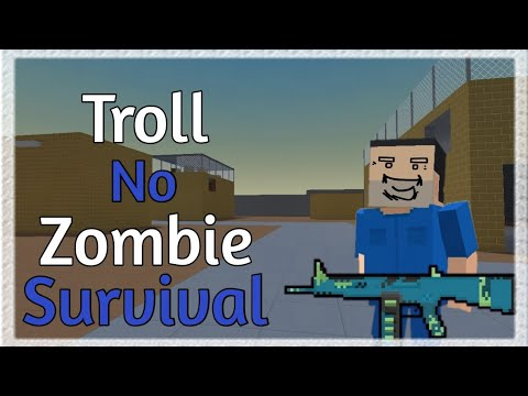 Troll do Zombie Survival | Block Strike