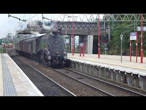 Union of South Africa passing through Stafford. 2018-09-08