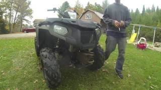 4. How to Super Clean ATV Sportsman 570 part 3