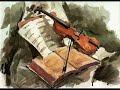 El Canon (cuyo nombre completo es Canon y Giga en Re mayor para tres violines y bajo continuo, en el original alemán: Kanon und Gigue in D-Dur für drei Violi...