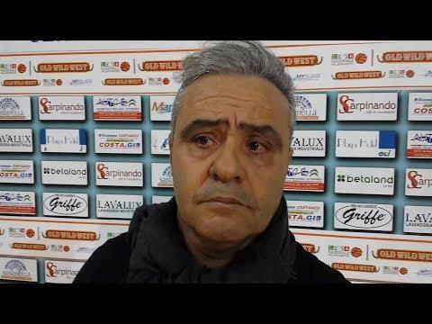 Basket. Clamorose dichiarazioni di coach Sidoti.