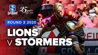 Lions v Stormers Rd.3 2020 Super rugby video highlights | Super Rugby Video Highlights