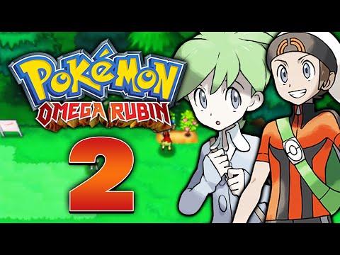 Pokemon Omega Rubin Part 2: Rosalstadt, Rivalenkampf, Blütenburg-City & Heiko's Trasla!