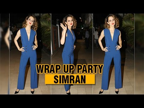 Kangana Ranaut Next Film Simran Wrap Up Party