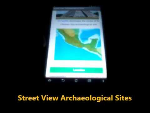 Video of StreetView ArchaeologicalSites