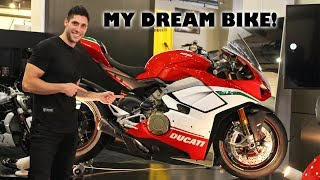 1. I Ordered a Ducati Panigale V4 Speciale!!!!