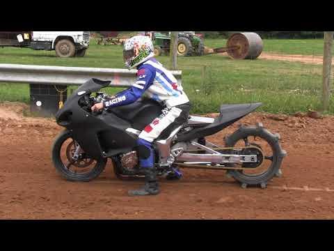 Suzuki Hayabusa @ Mountaineer Dirt Drags (видео)