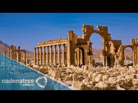 Yihadistas dinamitan el histórico Arco del Triunfo de Palmira