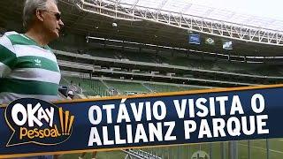 No Okay Pessoal desta sexta, 21/11/14, Otávio Mesquita mostra como ficou o novo estádio do Palmeiras, o Allianz Parque, na companhia de Sérgio, ex-goleiro do...