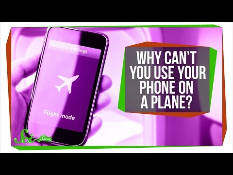 Why Can't You Use Your Phone on a Plane? (видео)