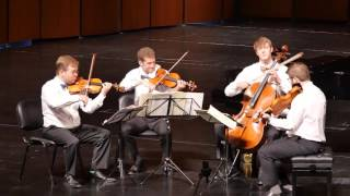 Altius Quartet Final 2016