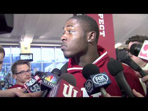 Tevin Coleman Interview 11/29/2014 video.