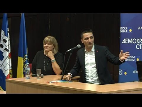 ДС избори: Прва дебата председничких кандидата – уводна излагања (8.9.2016)