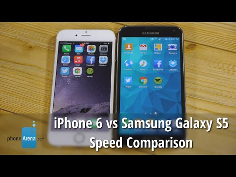 samsung - For more details, check out our web site: http://www.phonearena.com/ Which is faster - the iPhone 6 or the Samsung Galaxy S5? To answer this question, we attempted a comparison the kind of...