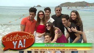 Pedro Damián presenta al elenco de