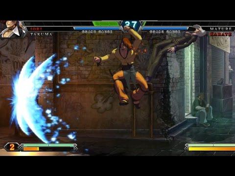 KOF XIII Latis (Iori, Hwa, Takuma, Clark, Kim) vs Rene (Duo Lon, Iori, Mr. Karate, Mature)