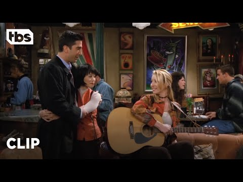 Friends: Ross' Love Triangle Becomes Phoebe's Song (Season 2 Clip) | TBS
