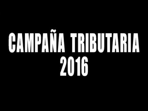 SPOT CAMPAÑA TRIBUTARIA 2016