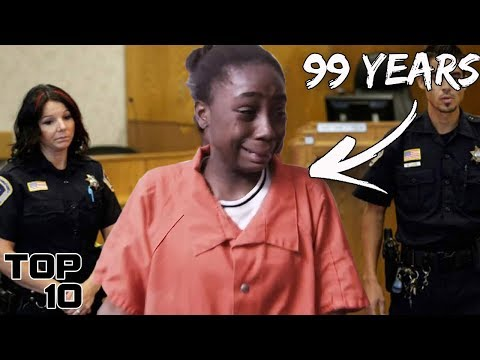 Top 10 Teenagers Freaking Out After A Life Sentence - Part 2