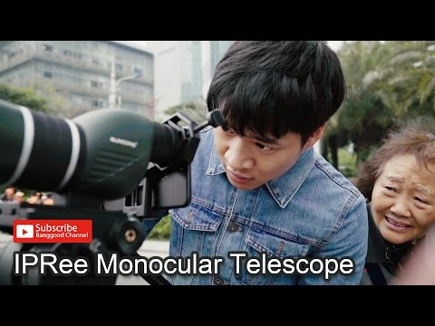 Ipree 15 45x60s Monocular Telescope Hd Optic Zoom Lens Bird Watching High Definition View Eyepiece