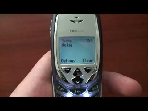 Nokia 8310 One of the smallest and most beautiful mobile phones