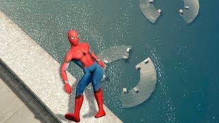 GTA 5 Spiderman Epic Ragdolls/Funny moments Ep.11 [Euphoria physics]