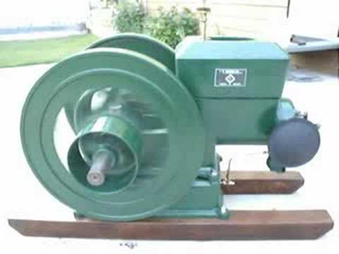 T. Eaton (Stover) 3 hp type KB hit n miss stationary engine