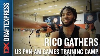 Rico Gathers 2015 US Pan-Am Games Training Camp Interview